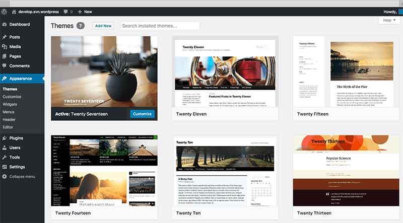 Wordpress Blog Templates