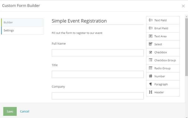 Site123 Custom Forms